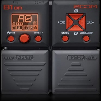 ZOOM BASS GUITAR FX PEDAL B1ON