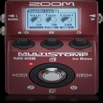 ZOOM BASS GUITAR FX PEDAL MS-60B
