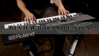 REVIEW ORGAN ROLAND E-X20A
